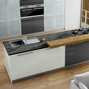 keramik arbeitsplatten und nischenr ckw nde. Black Bedroom Furniture Sets. Home Design Ideas