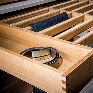Holzschubkasten Unterteilung 1
