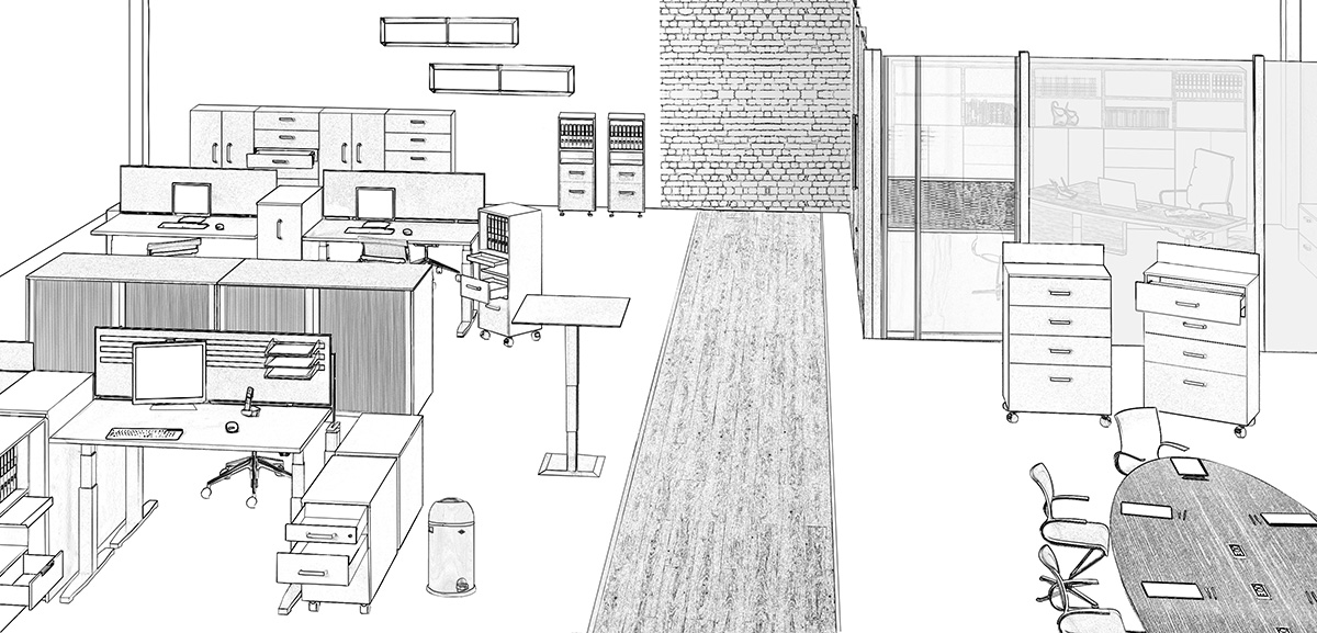 Alles für den Büroausbau