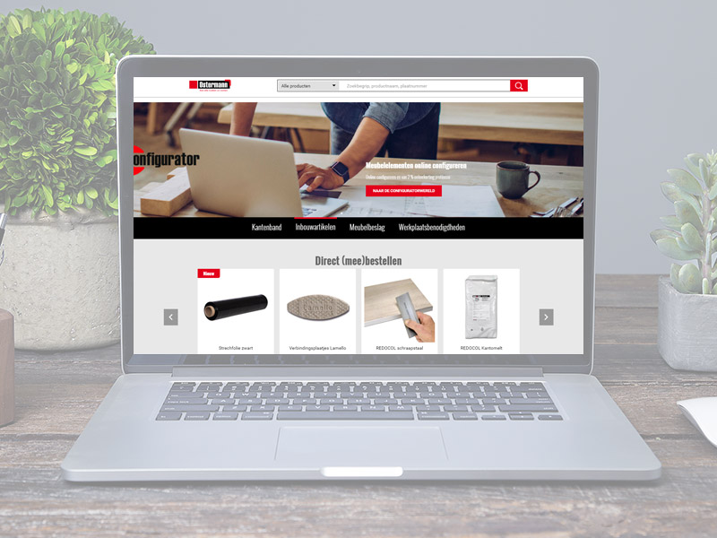 functies vele mogelijkheden in de online shop