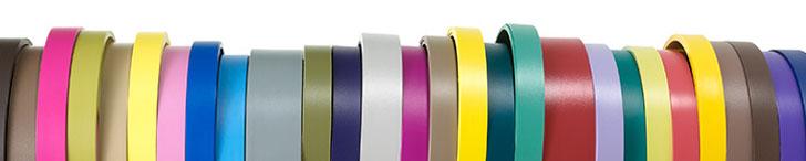 ABS Kanten in vielen verschiedenen Farben und Oberflächen