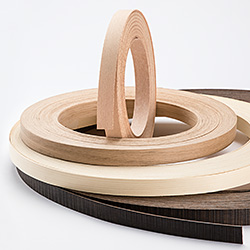 Real wood edgings, veneer edgings and solid wood edgings from Ostermann