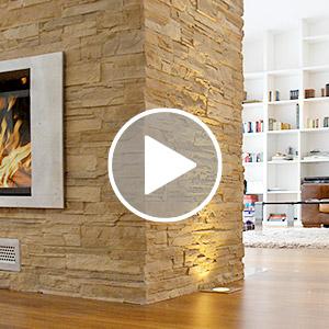 GFK-Steinpaneele Video Vorschau Bild