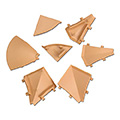 ipic1 Set of moulded parts for wall sealing profi