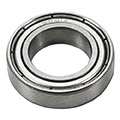 ipic1 Thrust ring, steel, Ø 21 mm, bore 12 mm