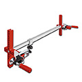 ipic1 Door frame strut TU, with pluggable clamps,