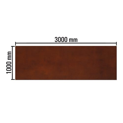 ipic2 Decor surface RollRost smooth 3000 x 1000 m