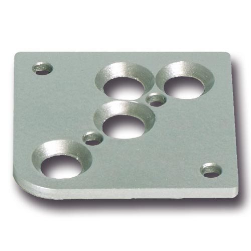 ppic1 Mounting plate for furniture foot model A-C