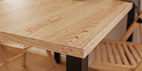 New: ABS Edging Indian Oak Red