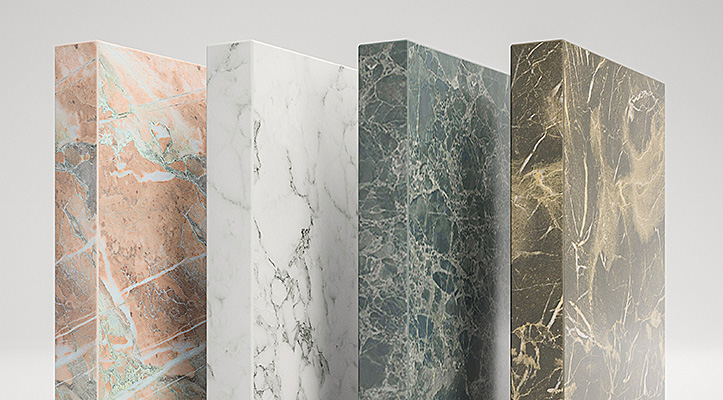 New ABS Edgings with Cutting-Edge Marble Decors