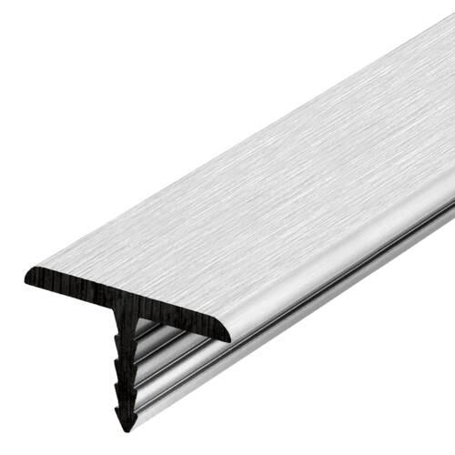 ppic1 010.0210. Aluminium T-bar edging silver-col