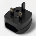 ppic1 Flat-Europlug adapter for UK-plug