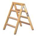 ipic1 Holz-Arbeits- und Tapezierbock, 95 cm hoch,