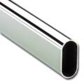 ipic1 Ovales Schrankrohr 30 x 15 mm, 2000 mm Läng